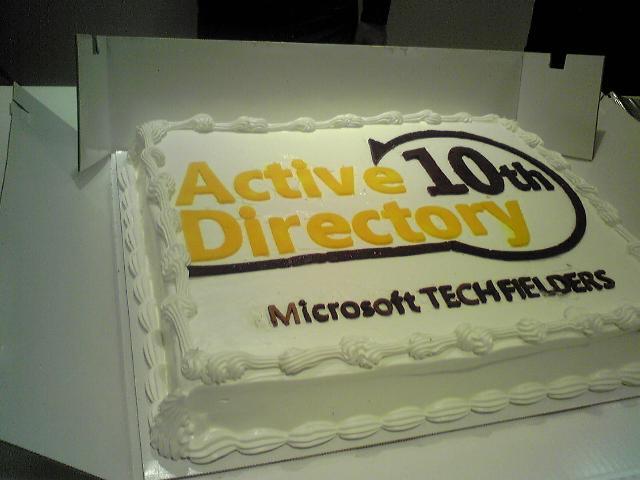 AD10thのケーキ
