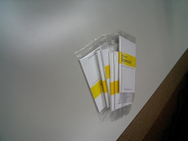 貰いそびれた付箋紙